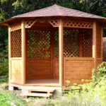 Беседка садовая восьмигранная Барыня 3,6 метра. Вместимость 15 человек.