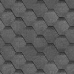 Мягкая черепица Шинглас серого цвета