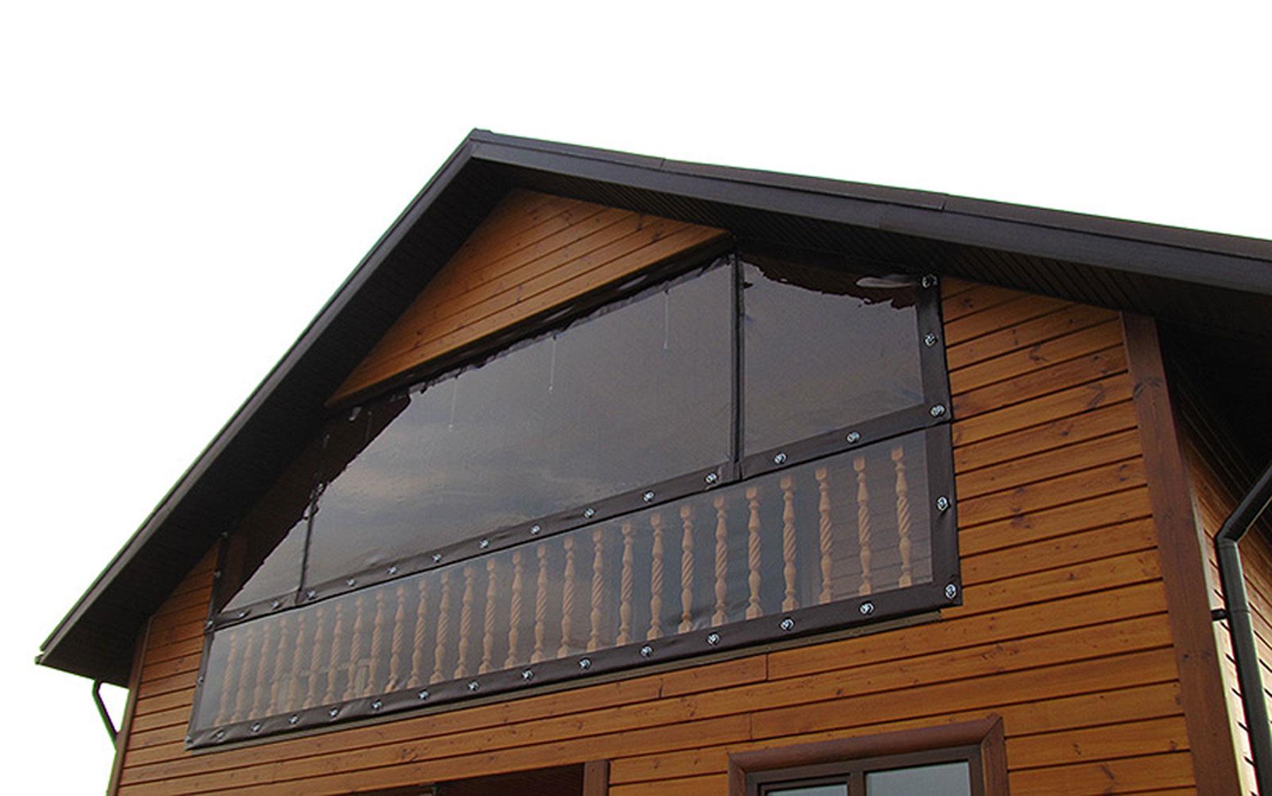 Мягкие окна для балкона.