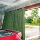 Брезентовые шторы в гараж купить