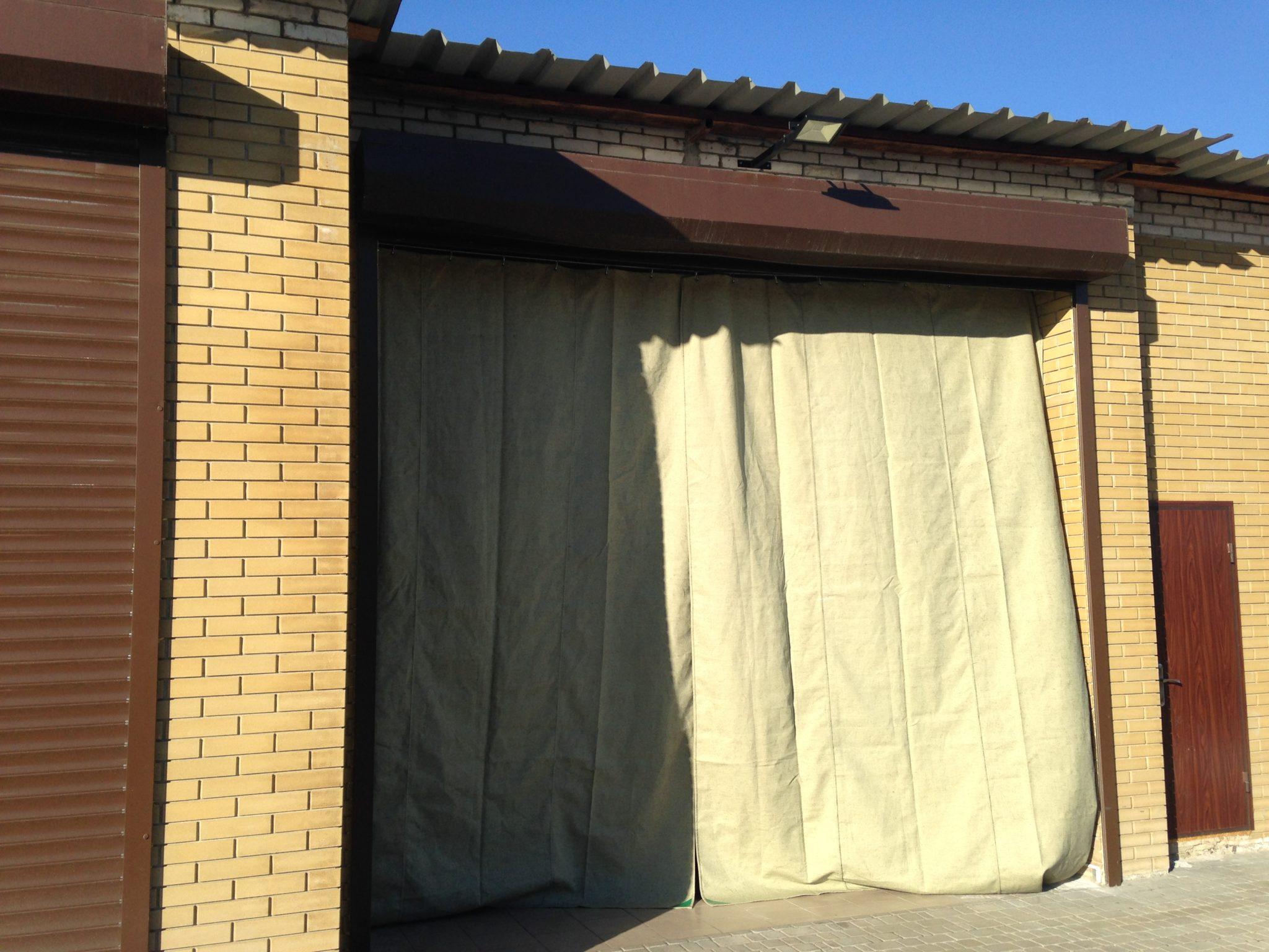 Как сделать штору для гаража 255
