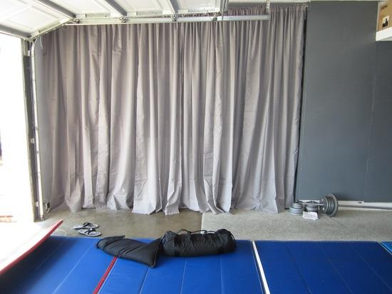 Как сделать штору для гаража 710