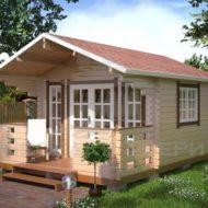 Садовые, дачные, гостевые и детские домики из бруса