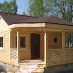 Дачный домик под ключ недорого