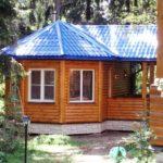 Летний дачный домик КОМФОРТ. Площадь 45 м2.