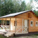 Садовый домик с верандой Тверь