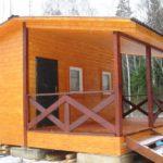 Хозяйственный домик №2 размером 6х6 метра. Площадь 36 м2.