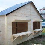 Ярмарочный домик 2.0х3.0 метра ВАРИАНТ 3. Площадь 6 м2.