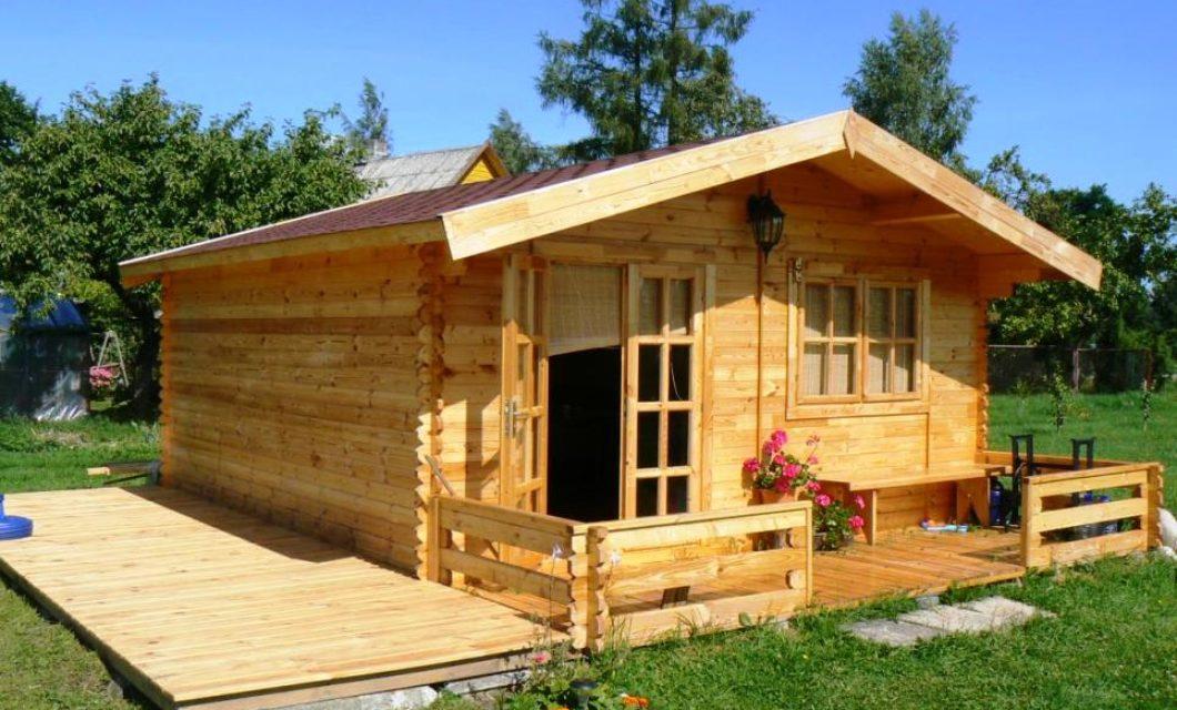 Садовые дачные домики из бруса